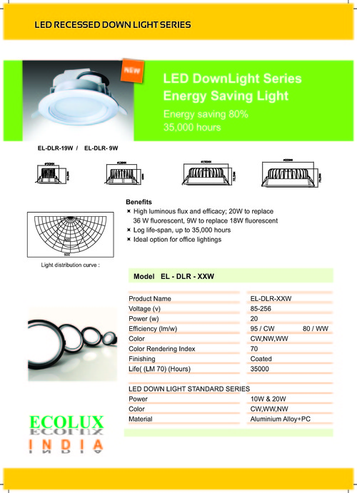 LED Recessed Downlight Series