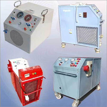 Refrigerant Recovery & Recycling Units