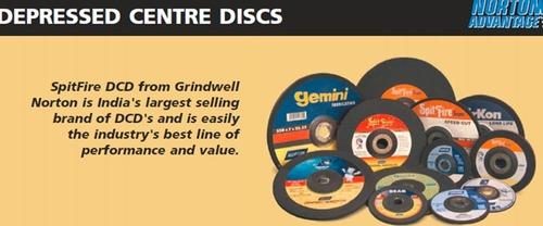 Depressed Center Grinding Discs