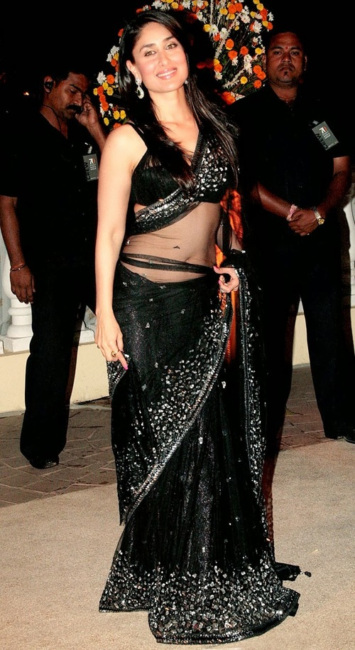 Kareena Kapoor Black Pure Net
