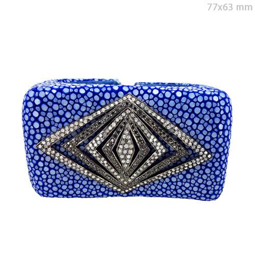 Diamond Pave Cuff Bracelet