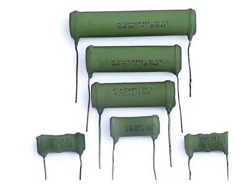 Silicone Coated  Resistor