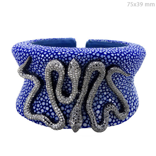 Diamond Stingray Cuff Bracelet Jewelry