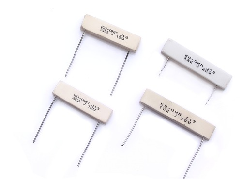Radial Leads Wire Wound Resistor