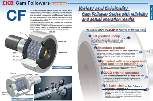 IKO Cam follower Bearings