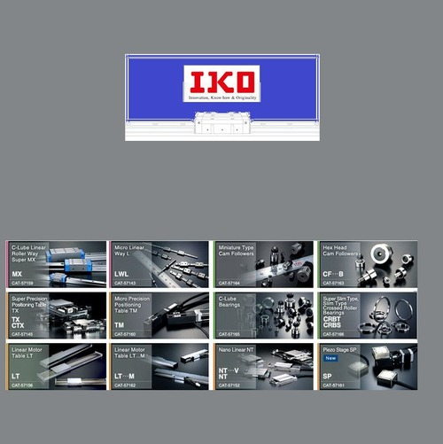 IKO Linear Guideways Interchange