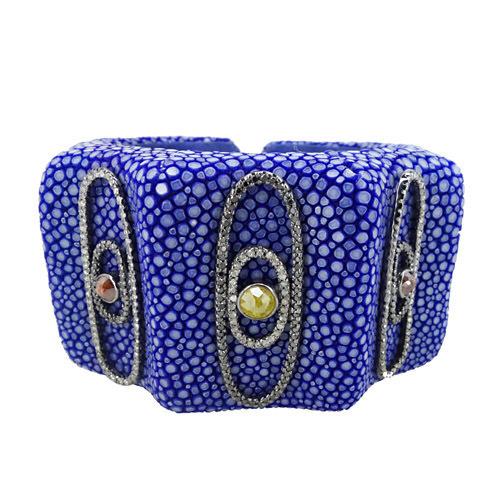 Diamond Stingray Cuff Bracelet