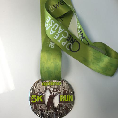 Medals in Solid Metal