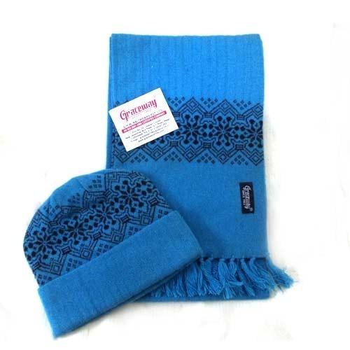 Woolen Mufflers Cap Sets