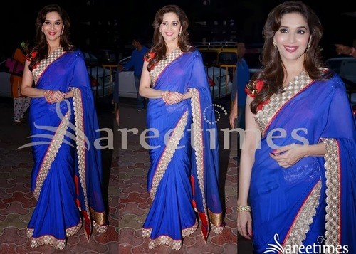 Bollywood Style Saree Madhuri Dixit