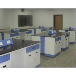 Modular Lab Center Table