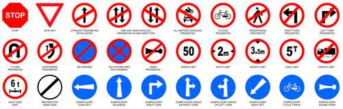 Retro Reflective Road Sign Board