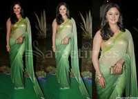 Rashmi Desai Bollywood Replica Saree