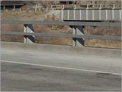 Metal Road Railings