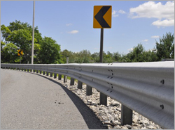 Stainless Steel Crash Barrier