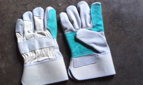 Double Palm Leather Working Glove
