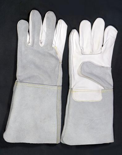 Grain Palm & Split Leather Back Welding Gloves