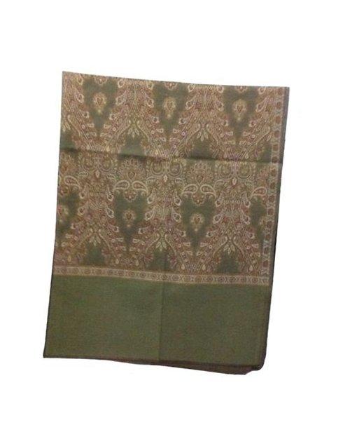 Designer Jacquard Wool Shawl