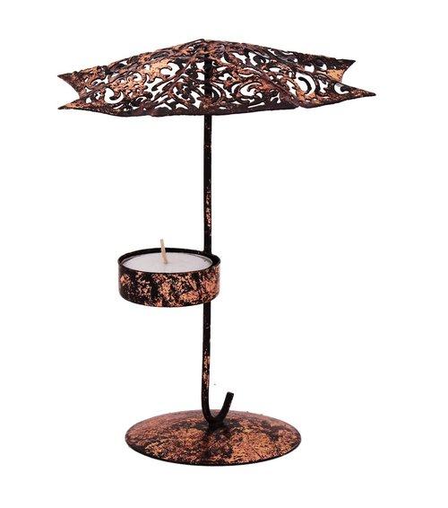 Beautifully Handmade Umbrella Shape Tea Light Candle Holder Home Decor