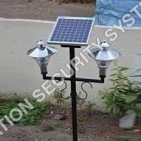 Solar Powered Aviation Warning Light