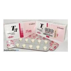 Liothyronine Sodium-25mcg-Tablets
