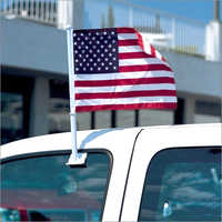 Car window flag