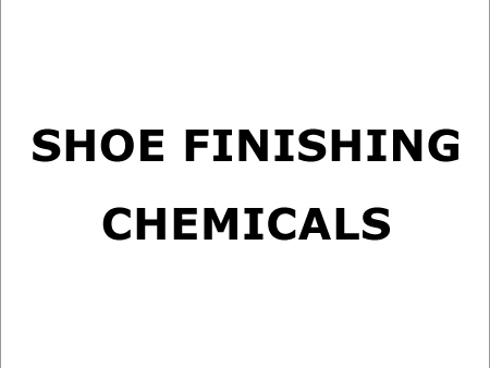 Shoe Finishing Chemicals