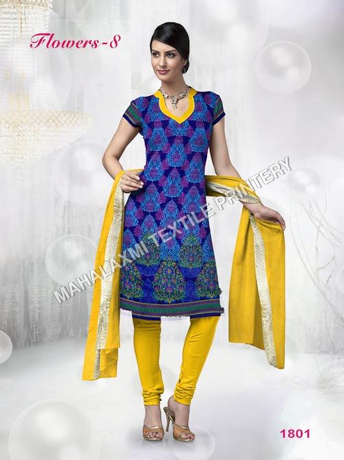 Elegant Cotton Dress Materials