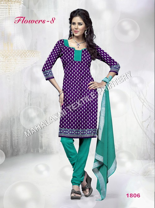 Printed Cotton Dress Materials