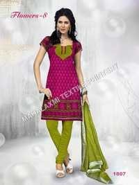 Designer Cotton Dress Material