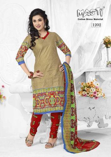 Stylish Cotton Dress Material