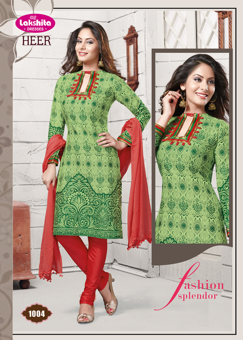 Online Unstitched Cotton Dress Materials