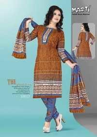 Online Unstitch Cotton Dresses Materials
