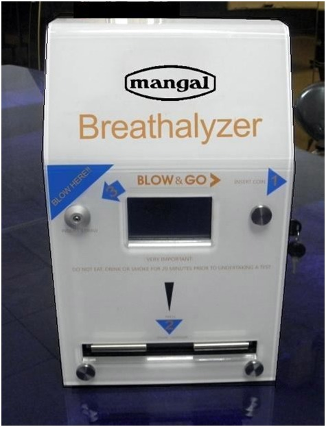 Wall Mounted Breath Analyzer PT 303