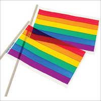 Plastic flag