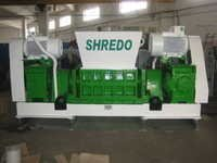 Aluminium shredding machine