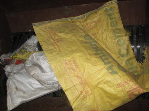 polythene bags Shredding