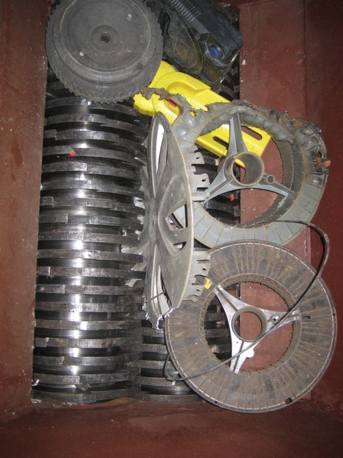 Recylcing  Plastic Shredder