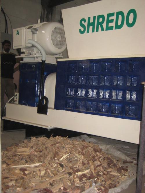 Wood Shredding
