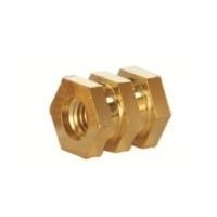 Hex Molding Brass Inserts