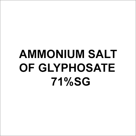 Ammonium Salt Of Glyphosate 71%Sg