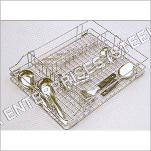 Adjustable Wire Cutlery Basket