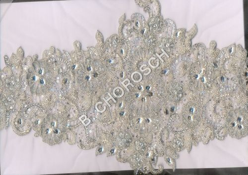 Haute Couture Embroidered Fabric