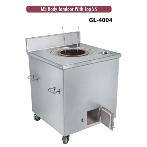 MS Body Tandoor with Top SS
