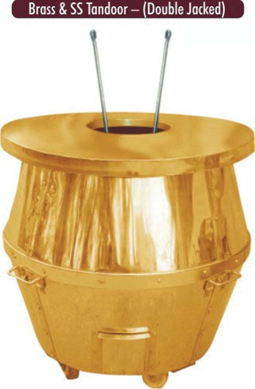 BRASS & TANDOOR -(DOUBLE JACKED )