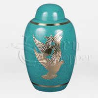 Espirit Brass Metal Cremation Urn