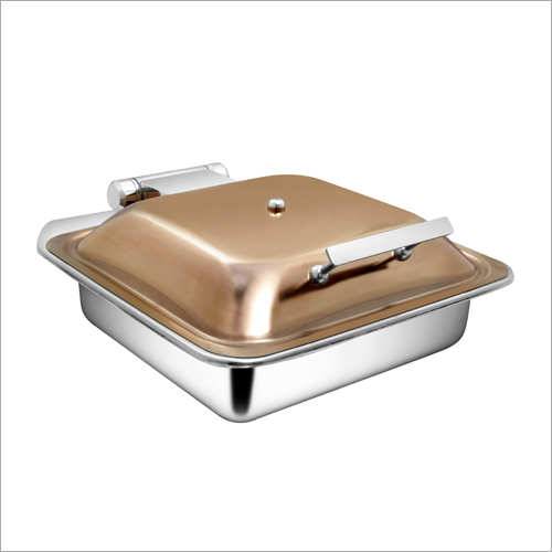 Sqaure Rose Gold Induction Chafer