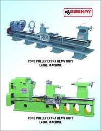 Cone Pulley Extra Heavy Duty Lathe Machine