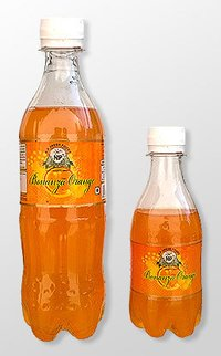 Bonanza Orange Soft Drinks