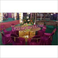 INDIAN WEDDING LIGHTED TABLES
